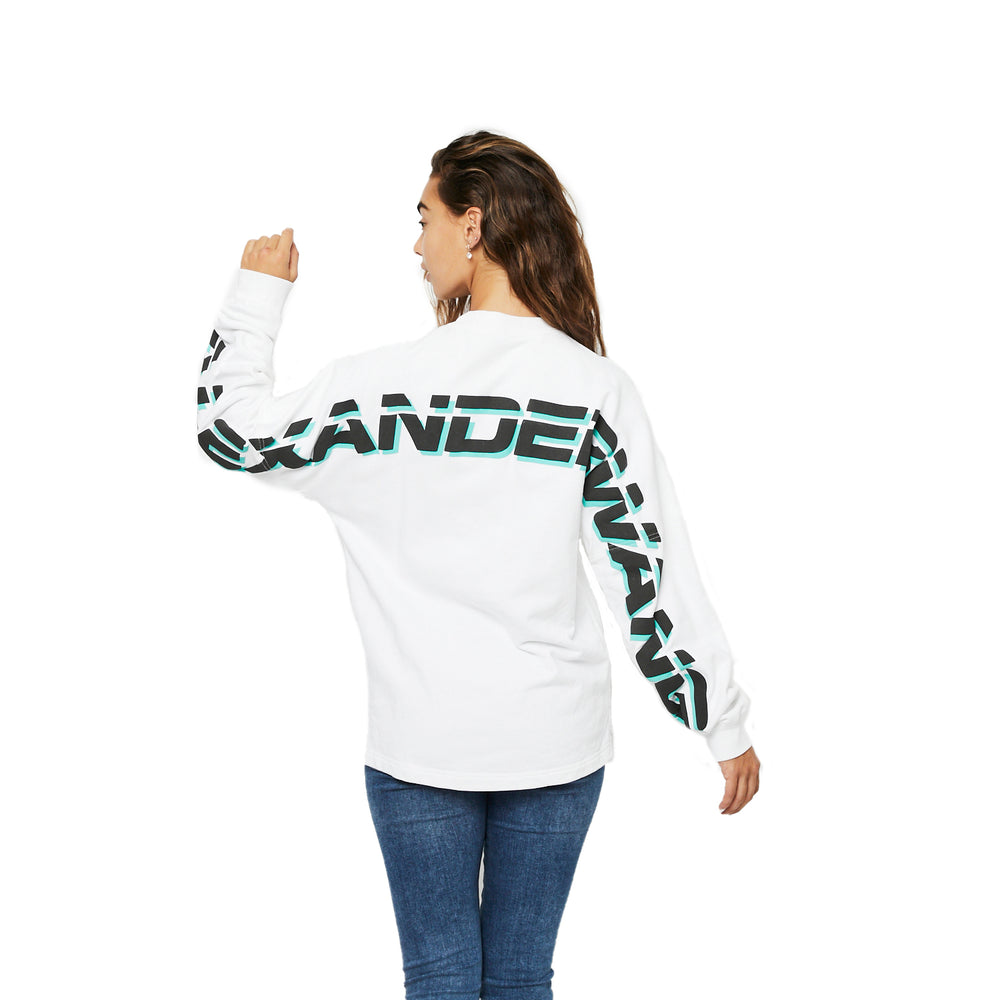 Load image into Gallery viewer, Alexander Wang Logo Jumper szXS (Oversized)