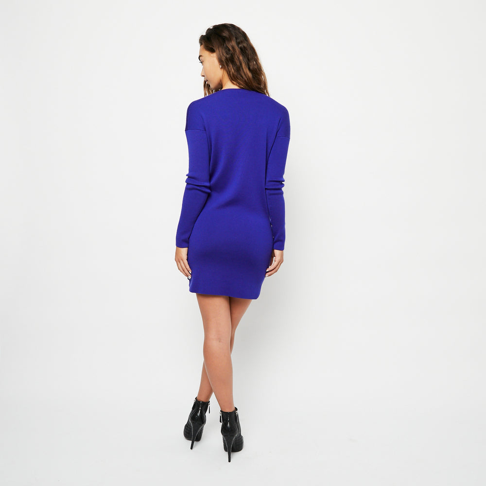 HERMES Cashmere Knit Dress