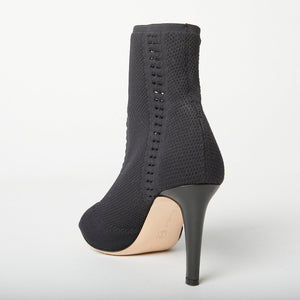 GIANVITO ROSSI Knitted Ankle Boot 38.5