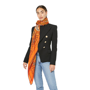 Load image into Gallery viewer, HERMÈS L'Arbre De Vie Cashmere Silk Shawl