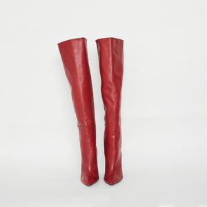 SAINT LAURENT Niki Knee High Boot Sz 41