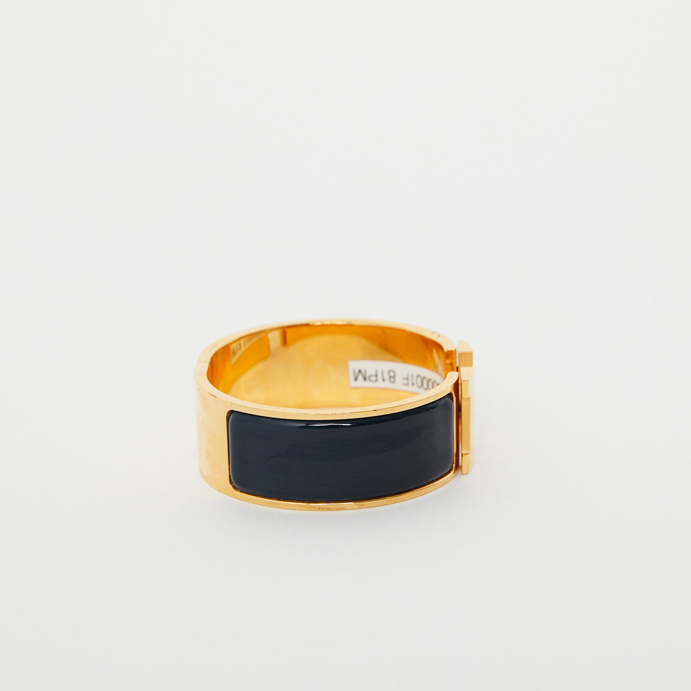 Load image into Gallery viewer, HERMES Clic Clac H Bracelet PM Deep Blue