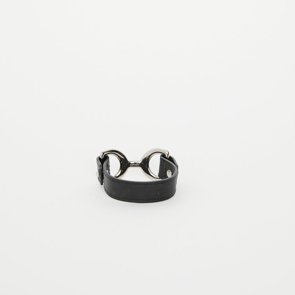Load image into Gallery viewer, HERMES Horse-bit Leather Cuff