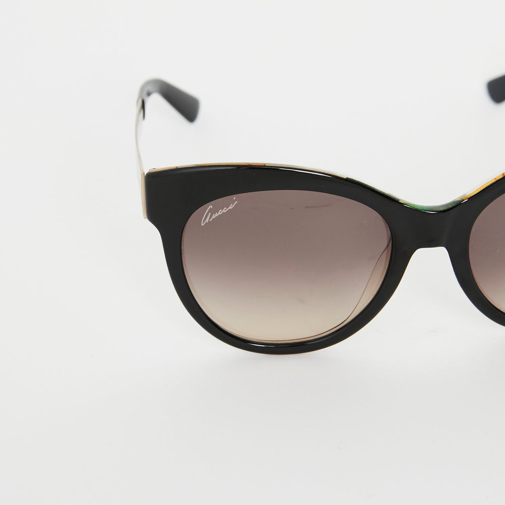 GUCCI Floral detail sunglasses