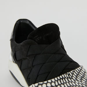 Load image into Gallery viewer, FERRAGAMO Woven Sneaker sz
