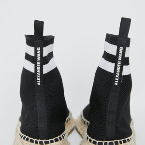 Load image into Gallery viewer, ALEXANDER WANG Dylan Knit Sock Sneakerdrille Sz 38
