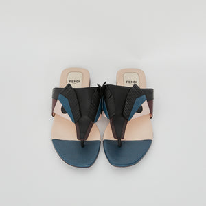 Load image into Gallery viewer, FENDI Monster Slides sz38