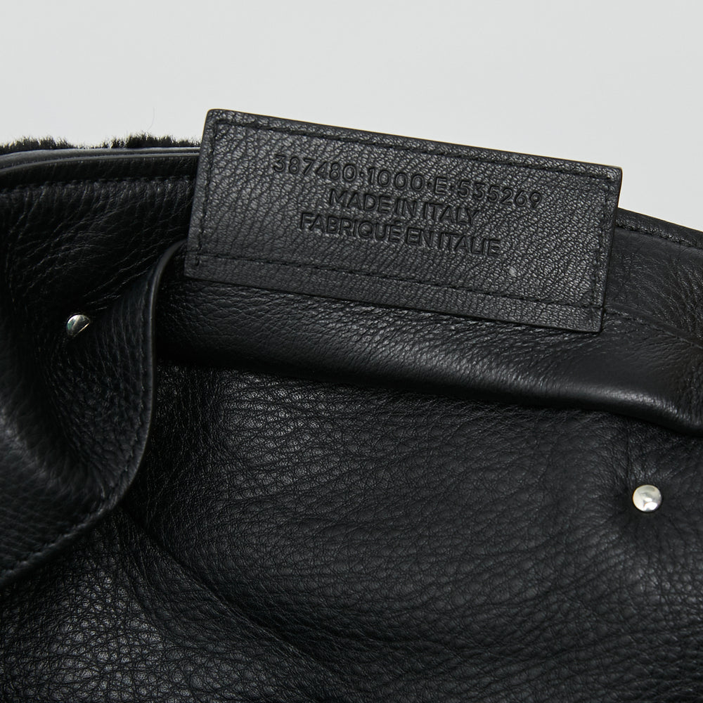 Load image into Gallery viewer, BALENCIAGA Shearling Papier Large Tote