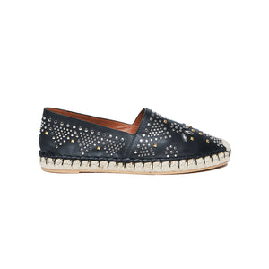 Load image into Gallery viewer, VALENTINO Teodora stud espadrille 38