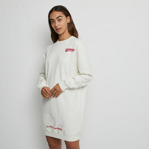 Load image into Gallery viewer, OFF-WHITE Jumper Dress Sz S