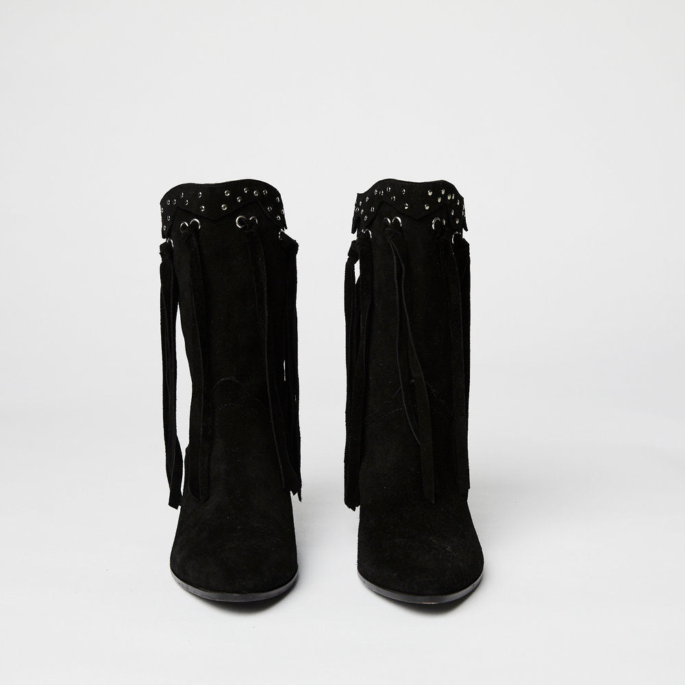 Load image into Gallery viewer, GIUSEPPE ZANOTTI western fringe boot 40