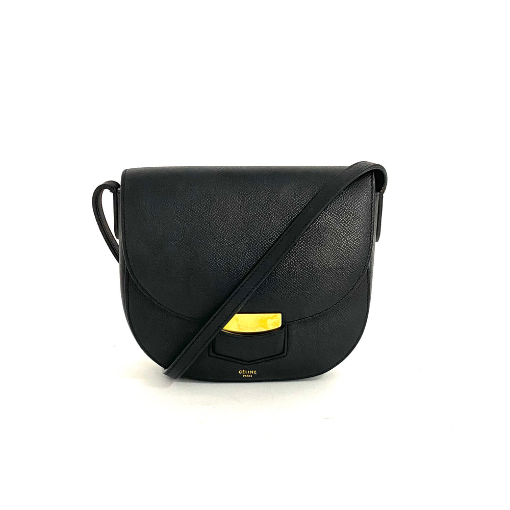 Load image into Gallery viewer, CELINE Grained Trotteur Bag
