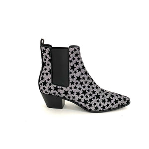 Load image into Gallery viewer, SAINT LAURENT Star Glitter Boots SZ 40