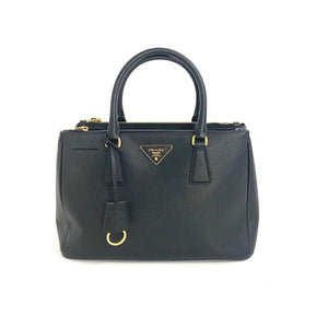PRADA Galleria Black Tote Bag