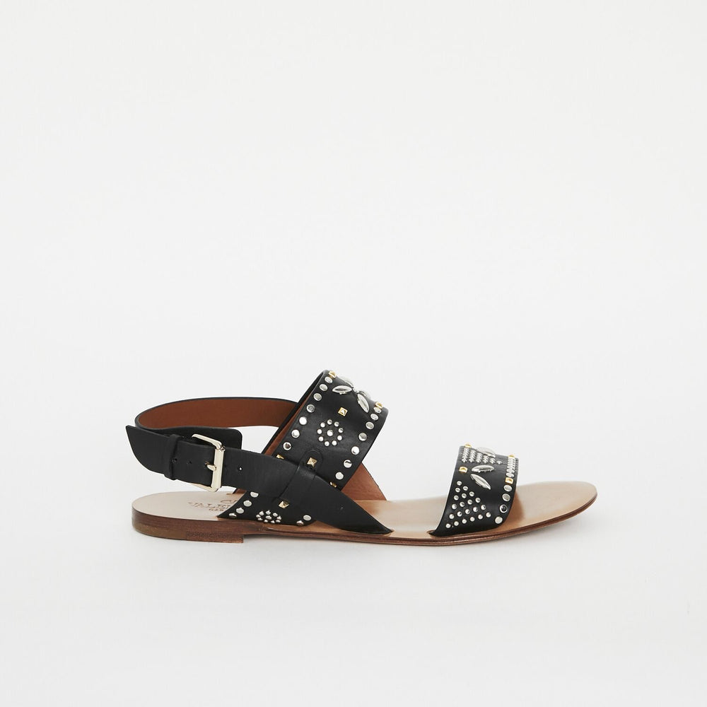 Load image into Gallery viewer, Valentino studded sandal