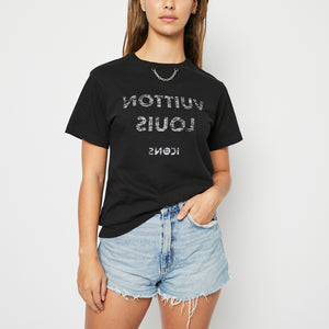 LOUIS VUITTON  Print T-Shirt XS