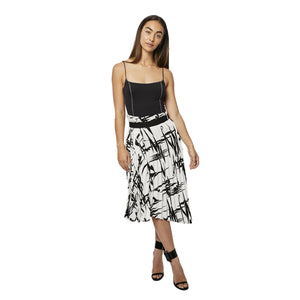 Load image into Gallery viewer, Balenciaga Uneven Hem Skirt Sz 36