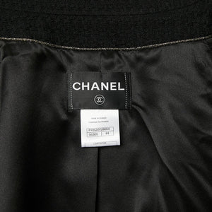 CHANEL Wool Jacket Sz 44