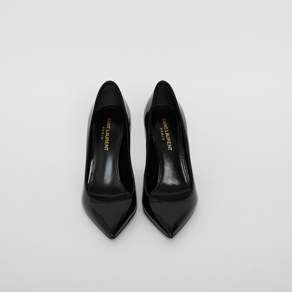 Load image into Gallery viewer, Saint Laurent Opyum Pumps Sz 35.5