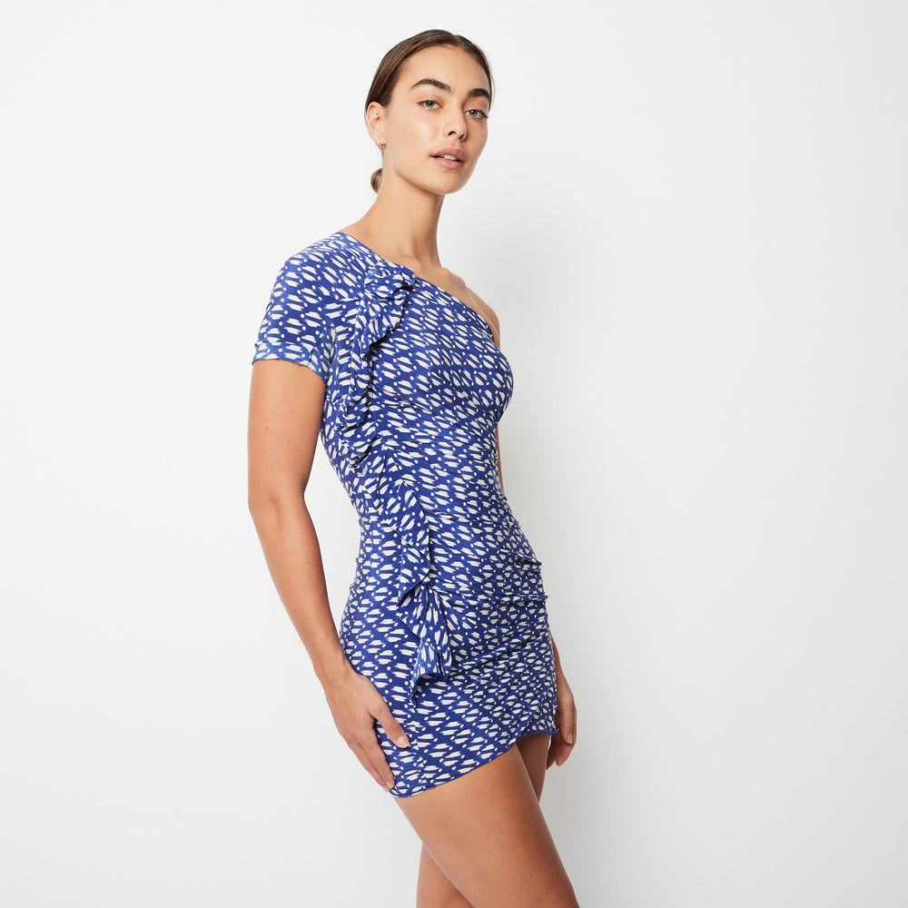 Load image into Gallery viewer, Isabel Marant Etoile Blue Dress Sz 0