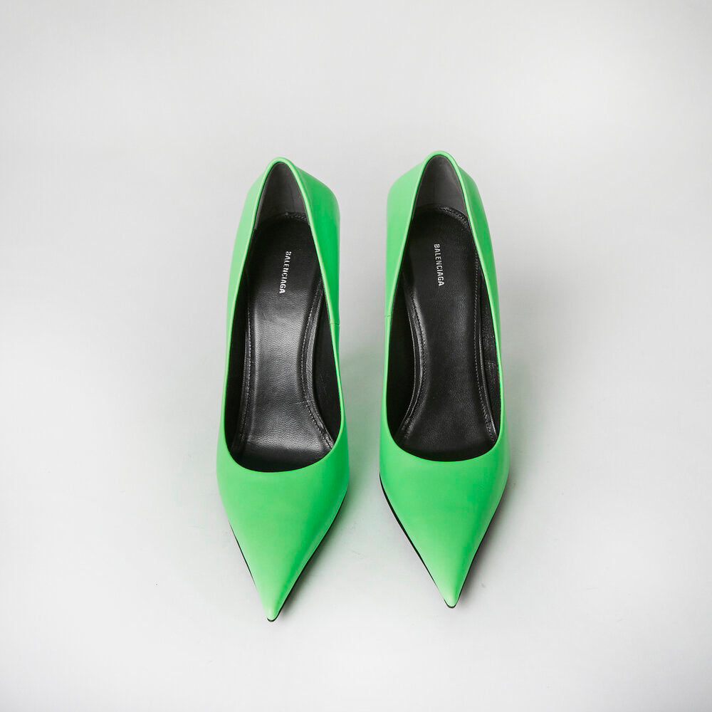 Load image into Gallery viewer, BALENCIAGA Neon Pump 39.5