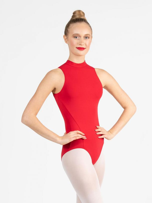 Load image into Gallery viewer, Capezio Studio Collection High Neck Leotard Child