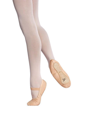 Capezio Clara Leather Ballet Shoe - Adult