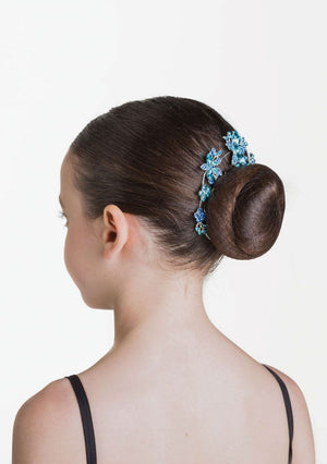 Load image into Gallery viewer, Studio 7 Dancewear Aquamarine Hairpiece