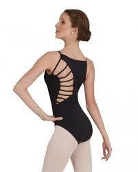 Capezio Sunburst Mock Turtle Camisole Leotard Adult