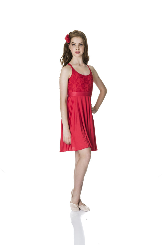Load image into Gallery viewer, Studio 7 Dancewear Lace Lyrical Dress Adult