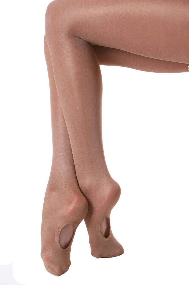 Load image into Gallery viewer, Studio 7 Dancewear Convertible Shimmer Tights Child