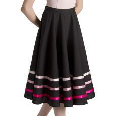 Bloch Character Skirt with Ribbon Adult