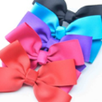 Load image into Gallery viewer, Mimy Design Grosgrain Bow w Aligator Clip