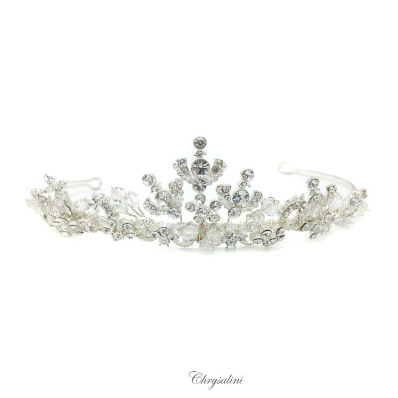 Load image into Gallery viewer, Chrysalini Tiara Silver