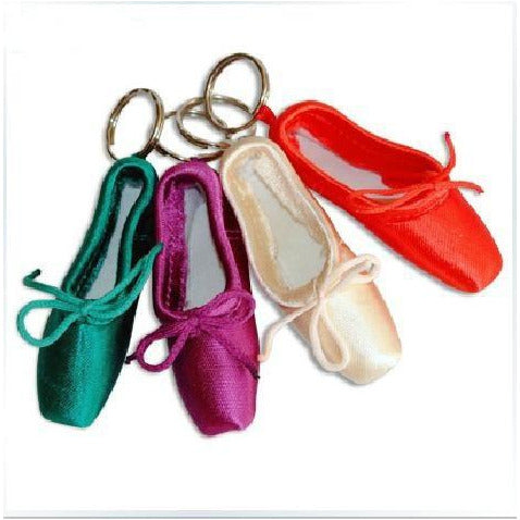 Load image into Gallery viewer, Sansha Mini Pointe Shoe Keyrings