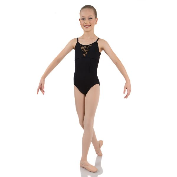 Load image into Gallery viewer, Energetiks Grace Lace Camisole Leotard Child