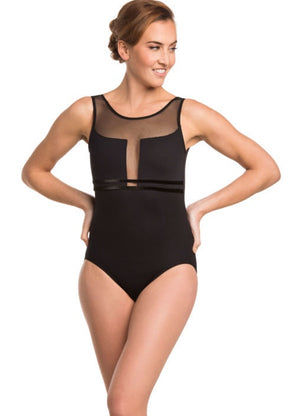 Load image into Gallery viewer, AinslieWear Margot with Mesh Leotard Adult