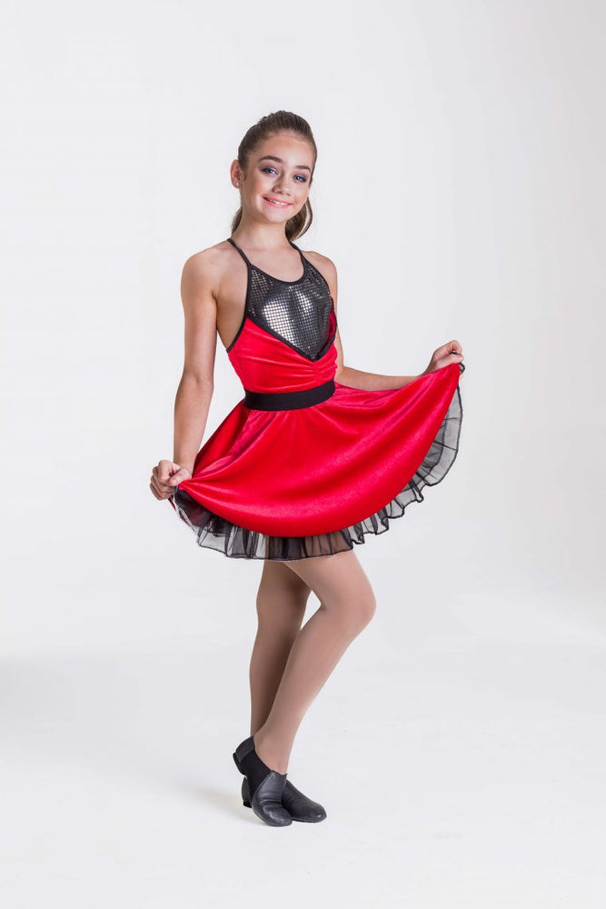 Load image into Gallery viewer, Studio 7 Dancewear Rock and Roll Dress Adult