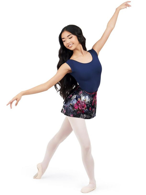 Load image into Gallery viewer, Capezio Botanical Wrap Skirt Adult