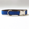 Personalised Collar - Laser Engraved, Metal Buckle, Nylon and Coloured Ribbon