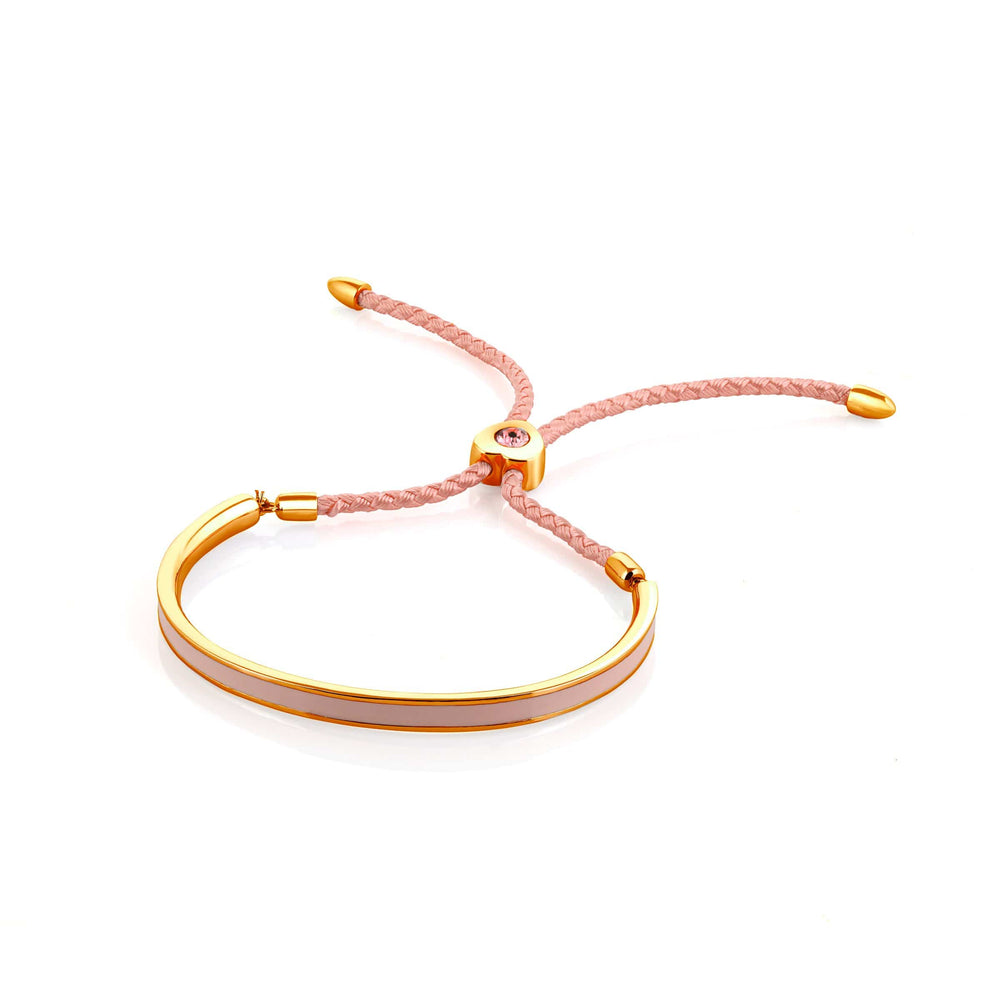 Fervor Montreal Bangle Mi Amore- Gold Plated Candyfloss