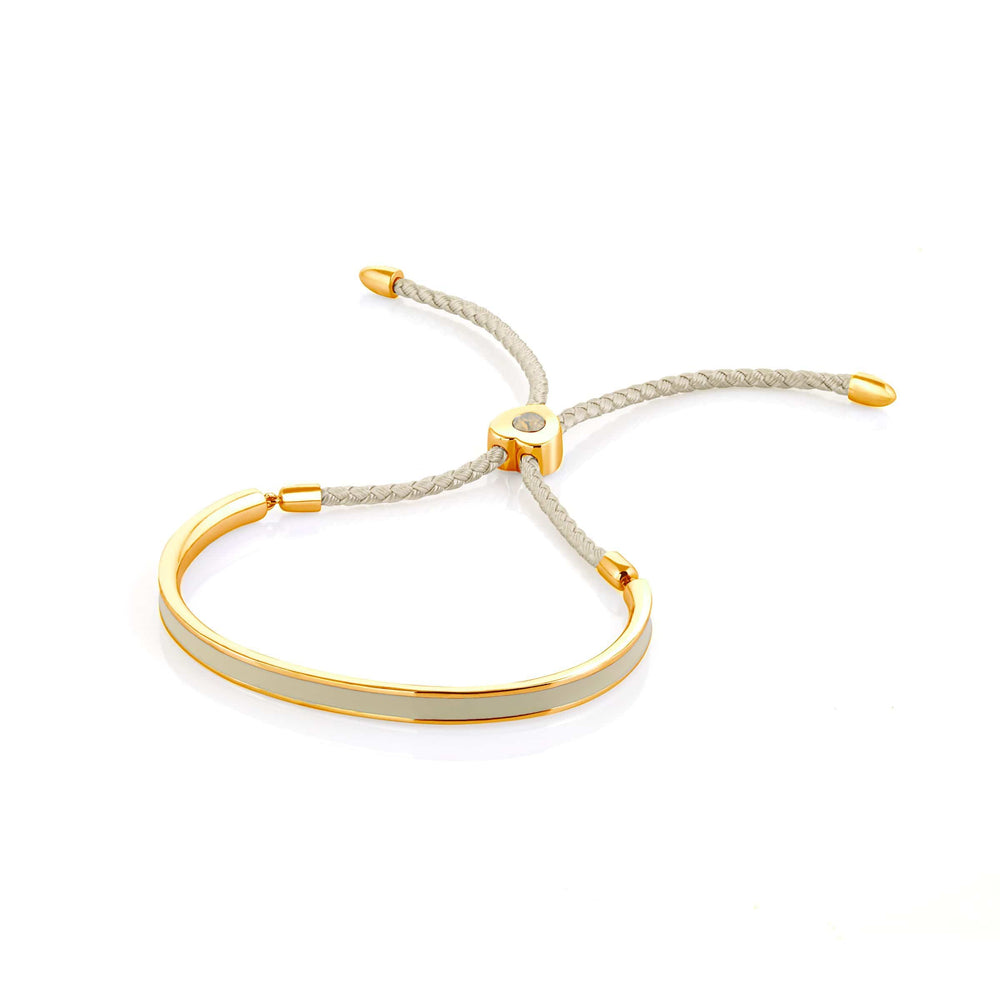 Fervor Montreal Bangle Mi Amore- Gold Plated Nude