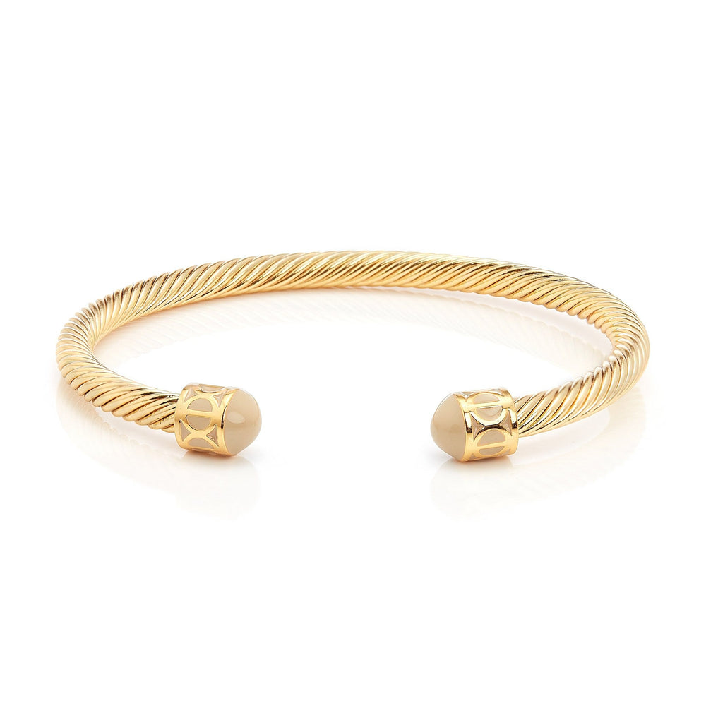 Load image into Gallery viewer, Fervor Montreal Bangle Mondial Bangles- Gold Plated Dubai