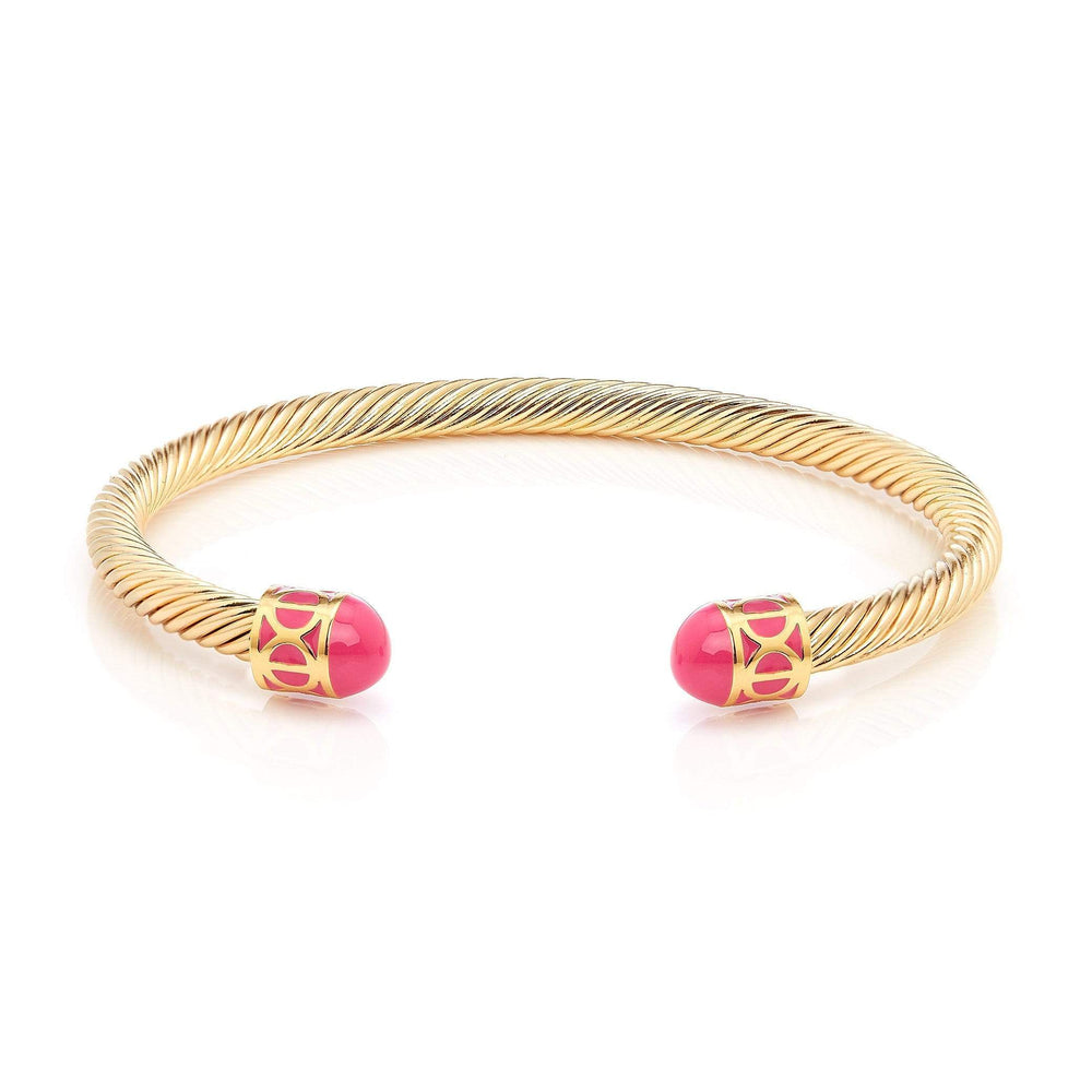 Fervor Montreal Bangle Mondial Bangles- Gold Plated Jaipur