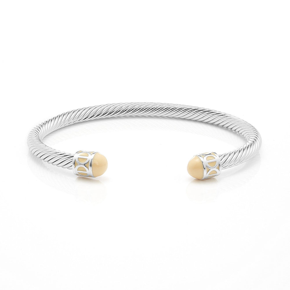 Fervor Montreal Bangle Mondial Bangles- Rhodium Plated Istanbul