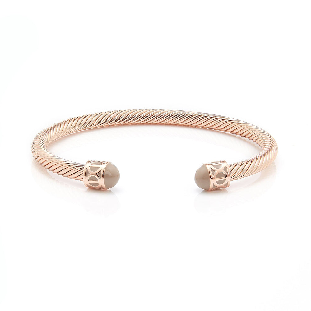 Load image into Gallery viewer, Fervor Montreal Bangle Mondial Bangles- Rose Gold Plated Dubai