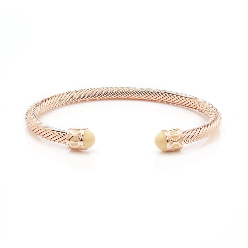 Fervor Montreal Bangle Mondial Bangles- Rose Gold Plated Isatanbul