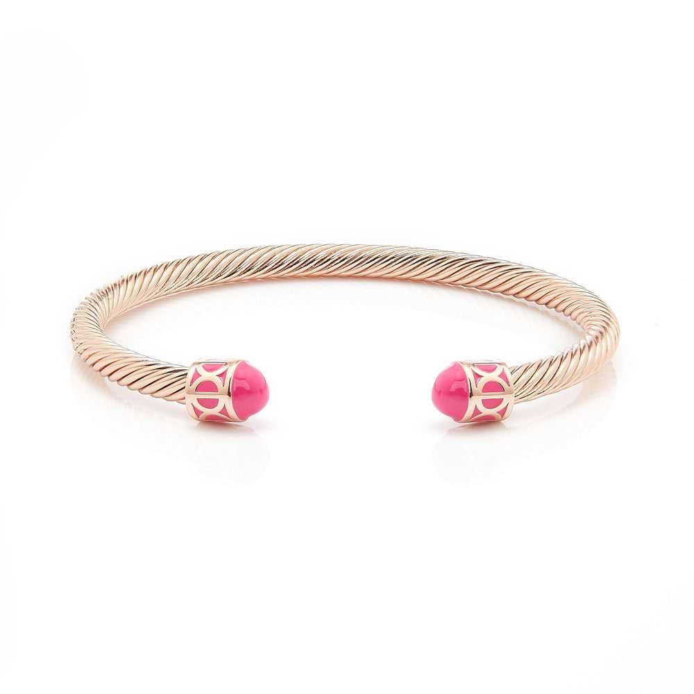 Load image into Gallery viewer, Fervor Montreal Bangle Mondial Bangles- Rose Gold Plated Jaipur