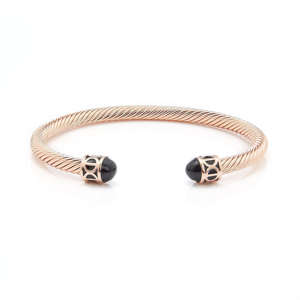 Load image into Gallery viewer, Fervor Montreal Bangle Mondial Bangles- Rose Gold Plated Montréal