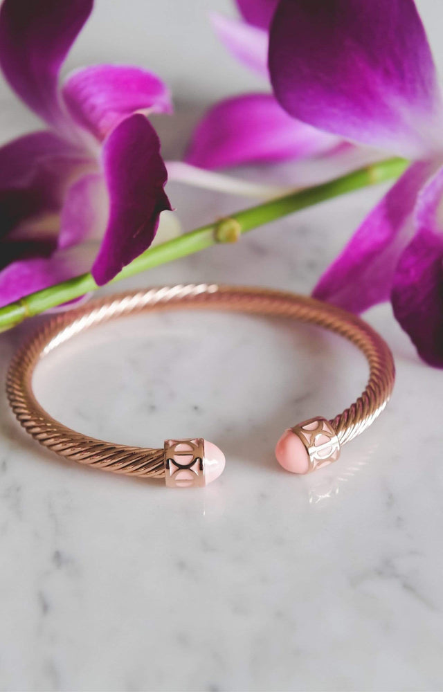 Load image into Gallery viewer, Fervor Montreal Bangle Mondial Bangles- Rose Gold Plated Osaka